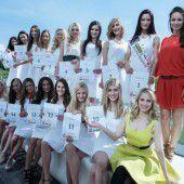 Die Miss Austria Wahl rückt näher