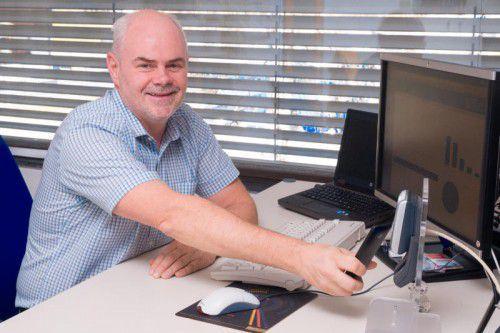Franz Dünser ist technischer Leiter und Mitglied der Geschäftsleitung bei Gantner Electronic in Schruns.
