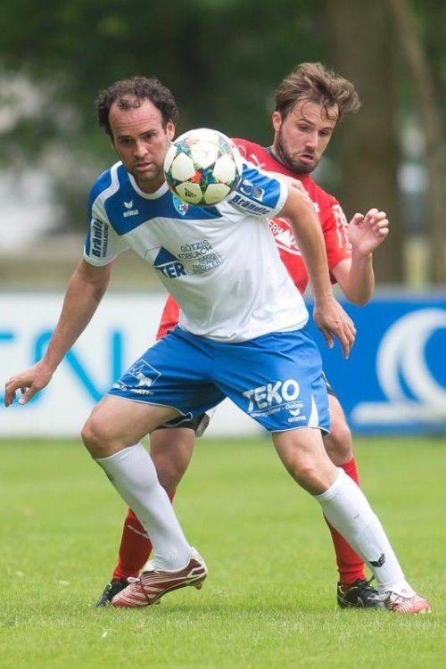 Fussball, 1. Landesklasse, FC Koblach - Bezau