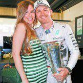 Nico Rosberg ist den Ballast los