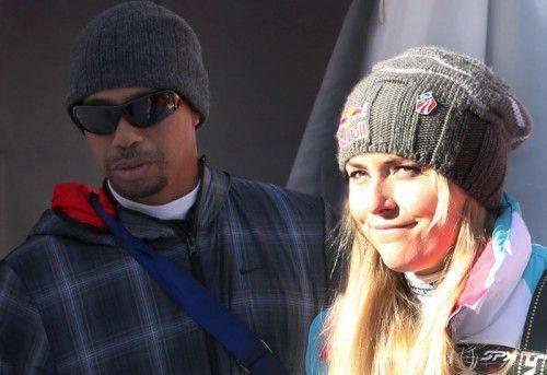 Golfprofi Tiger Woods und Skirennläuferin Lindsey Vonn haben sich nach fast drei gemeinsamen Jahren getrennt. Foto: GEPA