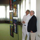Hinterglasbilder für Kapelle im Stadtspital