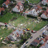 Millionenschäden nach Tornado in Deutschland