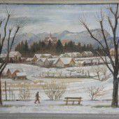 Der See, der Schnee und der Krieg