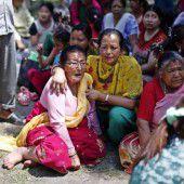 Tote und Verletzte nach neuerlichem Erdbeben