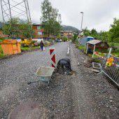 Kanal in Bürs wird erneuert