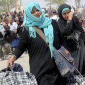 Syrien und Irak gehen gegen IS in Stellung