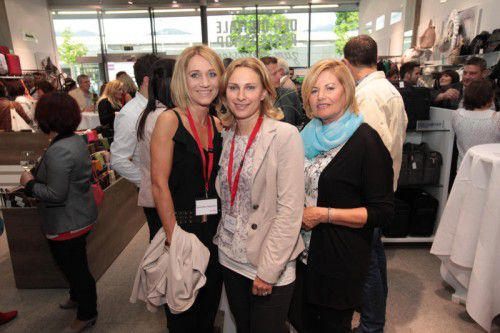 Jeanette Capellari, Silvia Andrich-Nenning und Herta Breuss (v. l.).