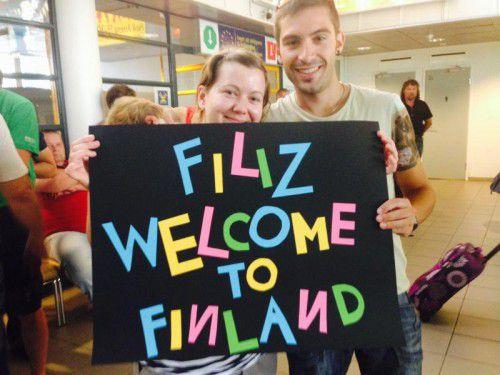 Jugendliche, die einen Europäischen Freiwilligendienst absolvieren, erzählen von ihren Erlebnissen. Foto: aha