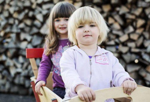 Kinder jeden Alters fühlen sich bei einer Tagesmutter gut aufgehoben. Foto: VT/Markus Gmeiner