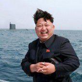 Kim Jong-un testet neue Waffe