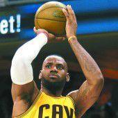 Cleveland steht als erster Klub im NBA-Finale