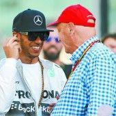 Lewis Hamilton fährt außerirdisch