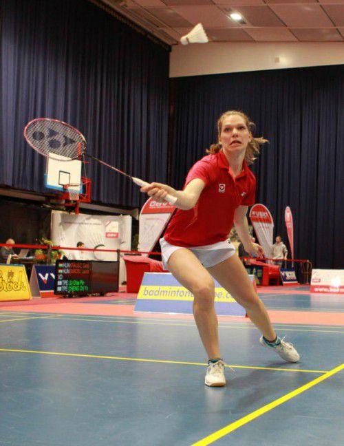 Lisi Baldauf gewann drei ihrer vier Einzel bei der Team-WM.  gepa