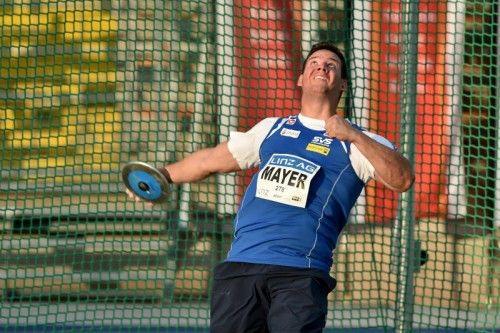 Mayer verbesserte seinen ÖLV-Rekord um 1,43 Meter. Foto: gepa