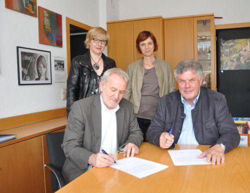 Neue Art der Zusammenarbeit: AMS und Stadt Bludenz.