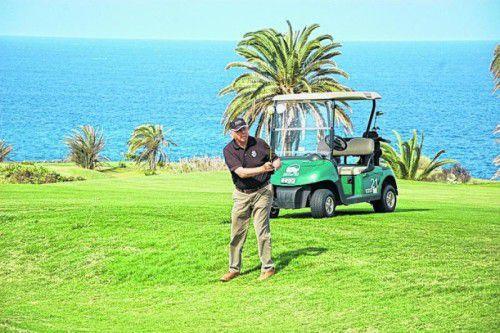 Neun Golfplätze stehen den Besuchern auf Teneriffa zur Verfügung.