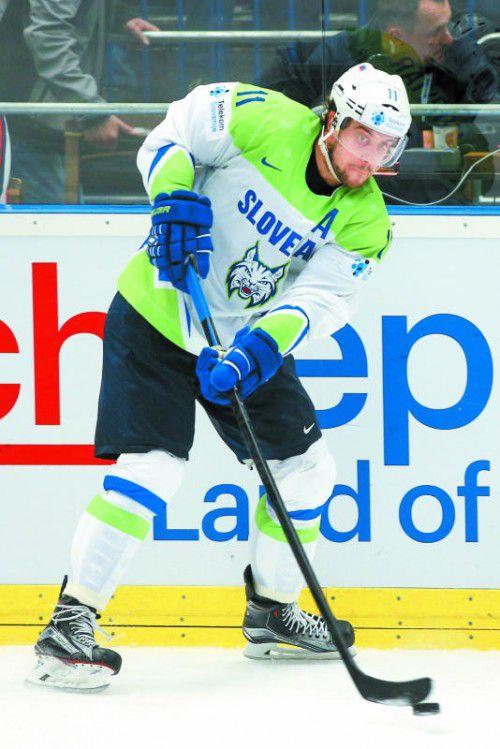 NHL-Star Anze Kopitar konnte Slowenien nicht helfen. Foto: gepa