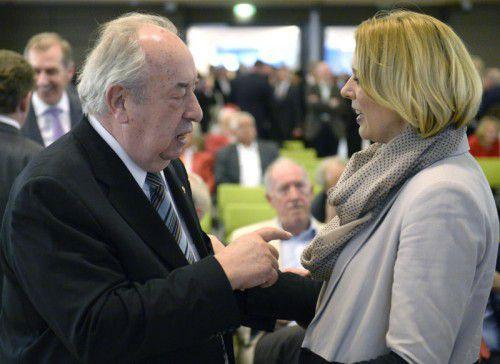 Noch nicht alles geklärt: Beamtengewerkschaftschef Neugebauer und SP-Staatssekretärin Steßl.  FOTO: APA