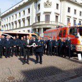 Feuerwehr Wiesbaden zufrieden mit Vorarlberger Löschfahrzeugen