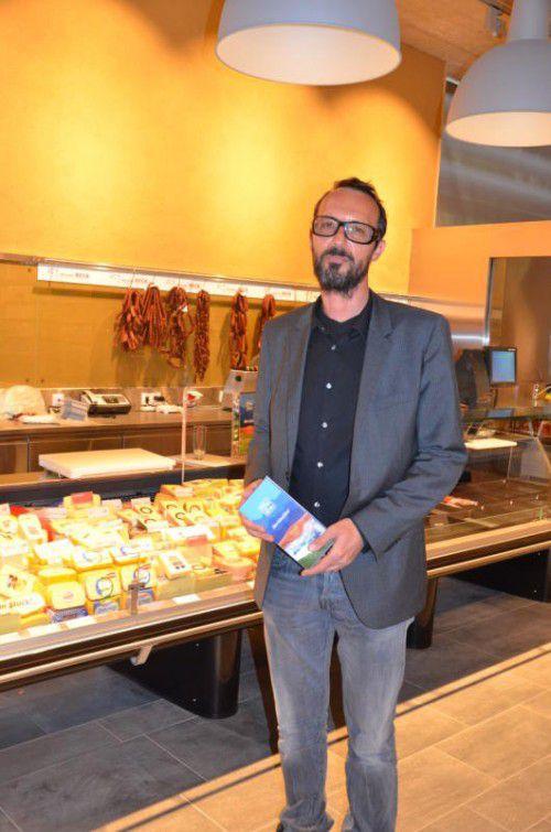 Peter Paul Mölk, bei MPreis für die Expansion zuständig, bietet im Kleinwalsertal auch regionale Produkte aus der Talschaft an. Foto: VN/sca