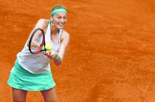 Petra Kvitova machte mit Serena Williams kurzen Prozess. Foto: Reu