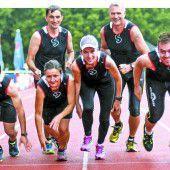 Läuferteam mit großen sportlichen Ambitionen