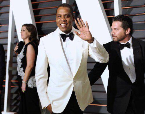 Rapper Jay Z möchte nicht, dass sein Engagement für die Demonstranten öffentlich wird. Foto: AP