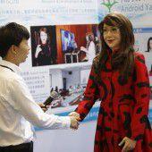 Chinesische Roboterdame kann Gefühle ausdrücken