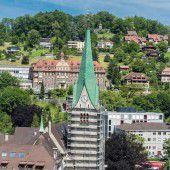 Feldkircher Dom erhält neuen Anstrich