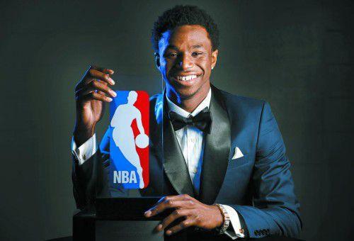 Rookie-Höchstwert von 16,9 Punkten: Andrew Wiggins. Foto: ap
