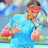 Rafael Nadal fiel auf den siebten Rang zurück
