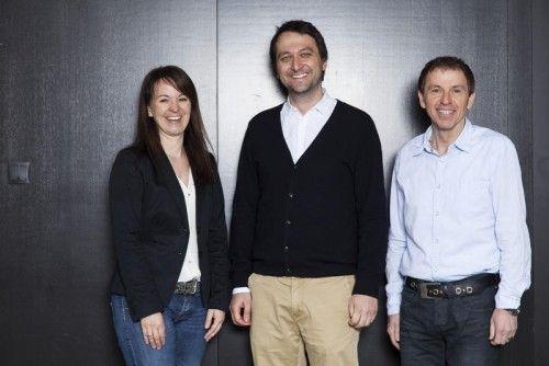 Sandra Jehle-Troy (GF Glatz Stempel GmbH), Johannes Glatz (GF Unternehmensgruppe), Manfred Schrattenthaler (GF Glatz Klischee GmbH).