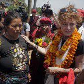 Susan Sarandon besucht Nepal