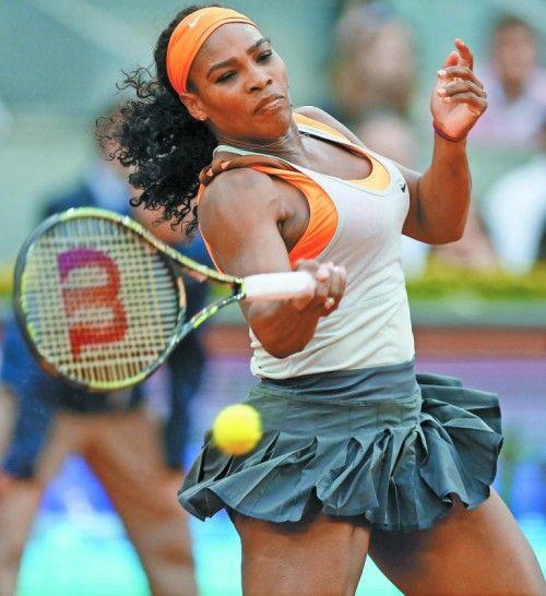 Serena Williams: harziger Sieg gegen Asarenka. Foto: apa