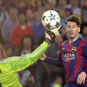 Barça-Fans huldigen wahrem Genie