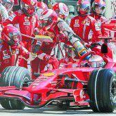 Die Formel 1 steigt aufs Gas