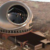 Hawaiianische Ureinwohner wehren sich gegen Mega-Teleskop