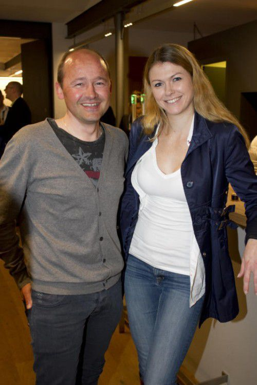 Thomas Kofler (Radteam Vlbg.) mit Laura Böhler (Tipkom).