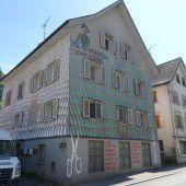 Bemaltes Haus in Hohenems
