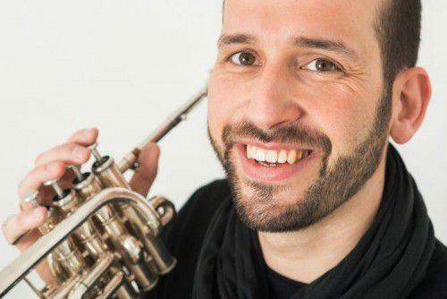 Trompeter Jürgen Ellensohn gastiert am 9. und 10. Mai in seiner Heimat Vorarlberg. foto: ursula dünser