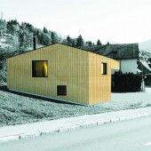 Neues Feuerwehrhaus in Dornbirn-Watzenegg