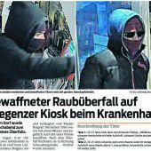 Unbedingte Haftstrafen für die Bregenzer Trafikräuber