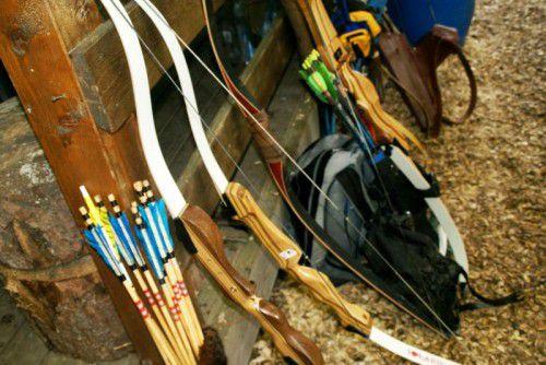 Von Bogenschützen dürfte in Lustenau keine Gefahr ausgehen.