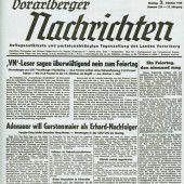 Vorarlberg feierte und stritt um den Gedenk-Zeitpunkt