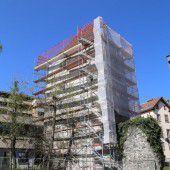 Neues Dach für den Feldkircher Diebsturm