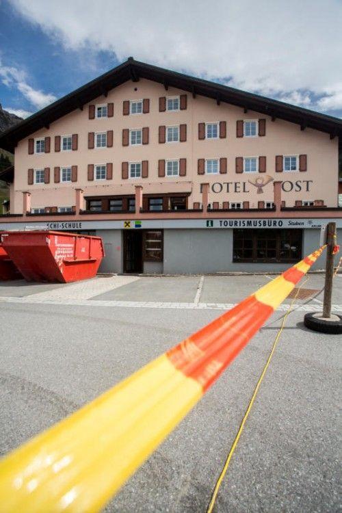 Wird umgekrempelt und modernisiert: Hotel Post in Stuben.