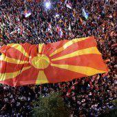 Angespannte Lage in Skopje