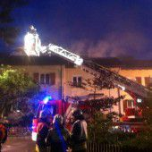 Feuer in Wohnhaus