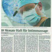 Traumatisierte Vorarlbergerin klagt Arzt auf Schmerzengeld